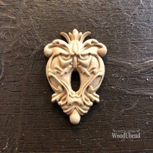 Wood U Bend 987 Schlüsselloch/Keyhole