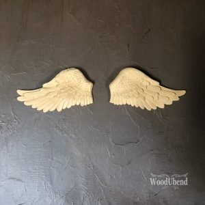 Wood U Bend 1208 Angel Wings Large