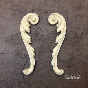 Wood U Bend 1723 Ornamente Medium (Paar)