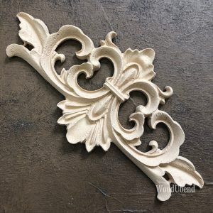 Wood U Bend 2092 Ornament Medium