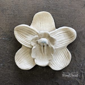 Wood U Bend 347 Orchidee 4.9cm x 4.8cm