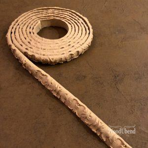 Wood U Bend TR002 Trim/Borte/Leiste 1.5cm