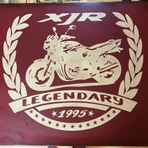 Woodsign Elfen & Helden 60×50 XJR Legend #4
