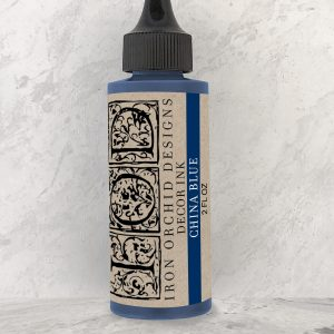 IOD Decor Ink China Blue