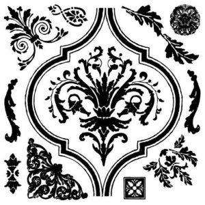 IOD Decor Stempel ARABESQUE