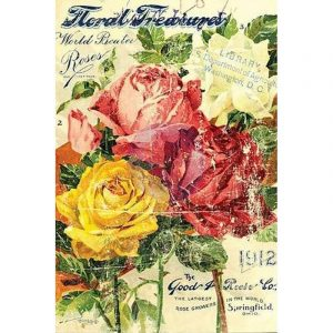 "IOD Decor Transfer ""Floral"""
