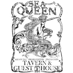 "IOD Decor Transfer ""Sea Queen"" groß"