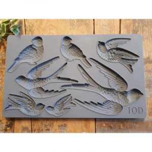 IOD Decor Mould Birdsong