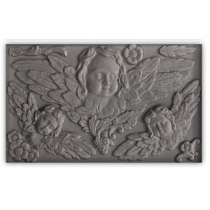 IOD Decor Mould Classical Cherubs