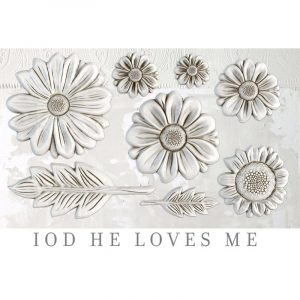 IOD Decor Mould He loves me