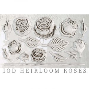 IOD Decor Mould Heirloom Roses