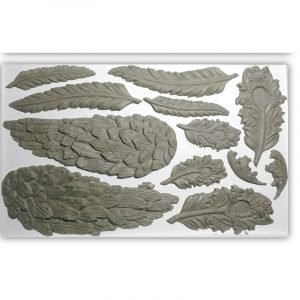 IOD Decor Mould Wings and Feathers