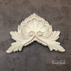 Wood U Bend 1227 Ornament