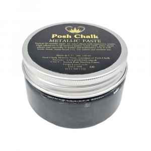 Posh Chalk Metallic Paste –  Black Carbon