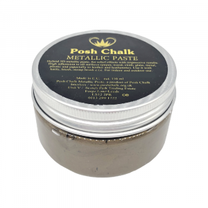 Posh Chalk Metallic Paste –  Brown Van Dyke