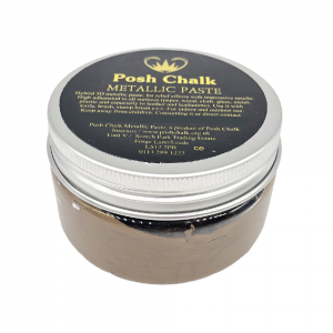 Posh Chalk Metallic Paste –  Deep Gold