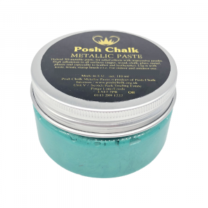 Posh Chalk Metallic Paste –  Green Fhthalo