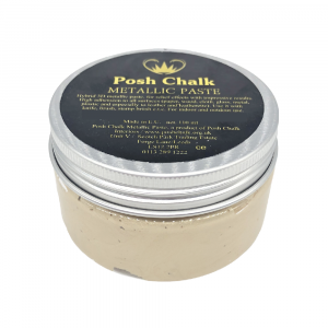 Posh Chalk Metallic Paste –  Light Gold