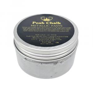 Posh Chalk Metallic Paste –  Pearl Silver