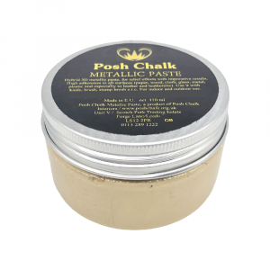 Posh Chalk Metallic Paste –  Shiny Gold
