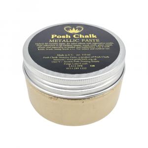 Posh Chalk Metallic Paste –  Shiny Gold