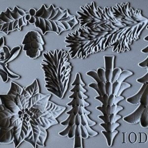 IOD Decor Mould Boughs of Holly