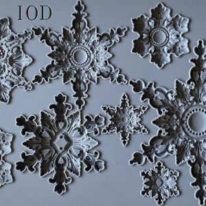 IOD Decor Mould Snowflakes