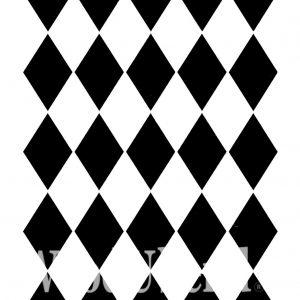 Posh Chalk – Schablone – nicht klebend – wiederverwendbar –  Harlequin 21×30 cm