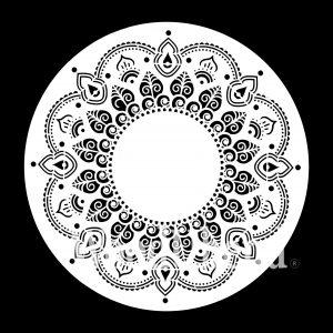 Posh Chalk – Schablone – nicht klebend – wiederverwendbar –  Moroccan Melody 30x30cm