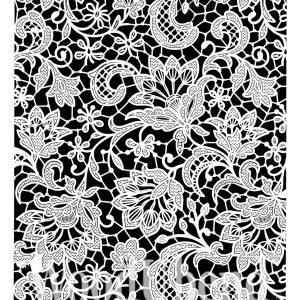 Posh Chalk – Schablone – nicht klebend – wiederverwendbar –  Solly's Lace 40x70cm