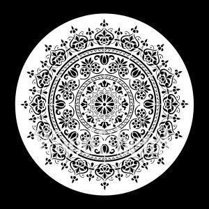 Posh Chalk – Schablone – nicht klebend – wiederverwendbar –  WoodUMandala 30x30cm