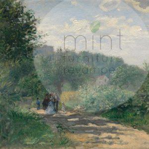 """Mint by Michelle Decoupage Papier """"Road to Louveciennes"""""""