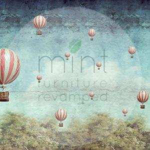 "Mint by Michelle Decoupage Papier ""Balloons"""