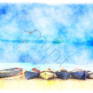 """Mint by Michelle Decoupage Papier """"Coastal Blue"""""""