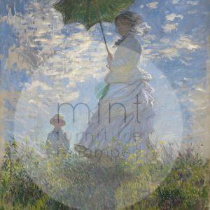 "Mint by Michelle Decoupage Papier ""Lady With A Parasol"""