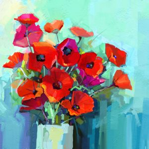 "Mint by Michelle Decoupage Papier ""Poppies"""