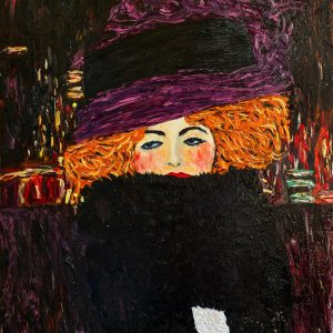 "Mint by Michelle Decoupage Papier ""Purple Hat"""