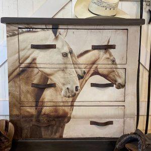 """Mint by Michelle Decoupage Papier """"Sepia Horses"""""""
