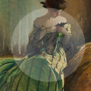 "Mint by Michelle Decoupage Papier ""Study in Black & Green"""
