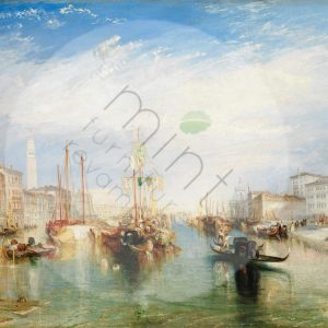 "Mint by Michelle Decoupage Papier ""Venice by JosephTurner"""
