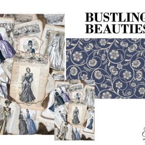 "Grace on Design Decoupage Papier ""Bustling Beauties"""