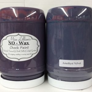 Miss Lillian's NO WAX Chock Paint Amethyst Velvet