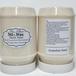 Miss Lillian's NO WAX Chock Paint Australian Sand
