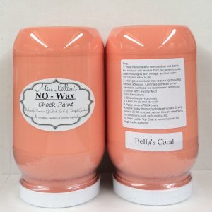 Miss Lillian's NO WAX Chock Paint Bella's Coral