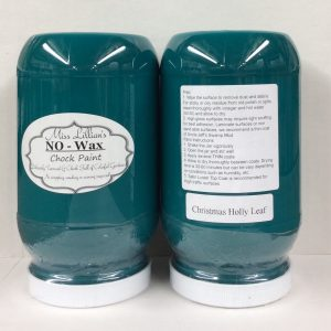 Miss Lillian's NO WAX Chock Paint Christmas Holly