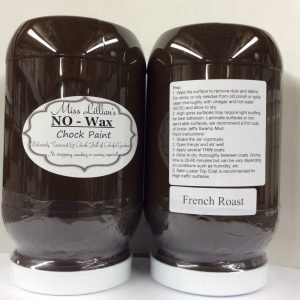 Miss Lillian's NO WAX Chock Paint French Roast
