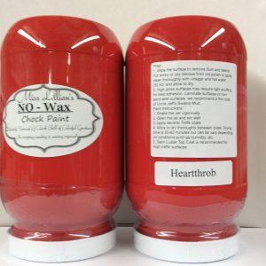 Miss Lillian's NO WAX Chock Paint Heartthrob
