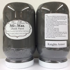 Miss Lillian's NO WAX Chock Paint Knight's Armor
