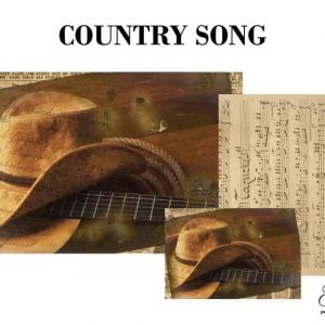 "Grace on Design Decoupage Papier ""Country Song"""