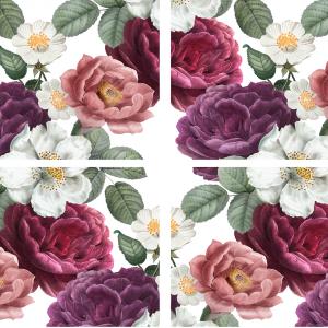 Belles & Whistles Transfer Floral Romance 68 x 81 cm
